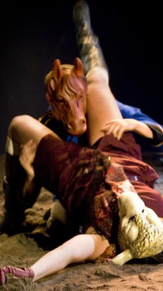 Woyzeck - your favourite working class hero van Casper Vandeputte<br/>Fotografie: Moon Saris, Theater in Beeld